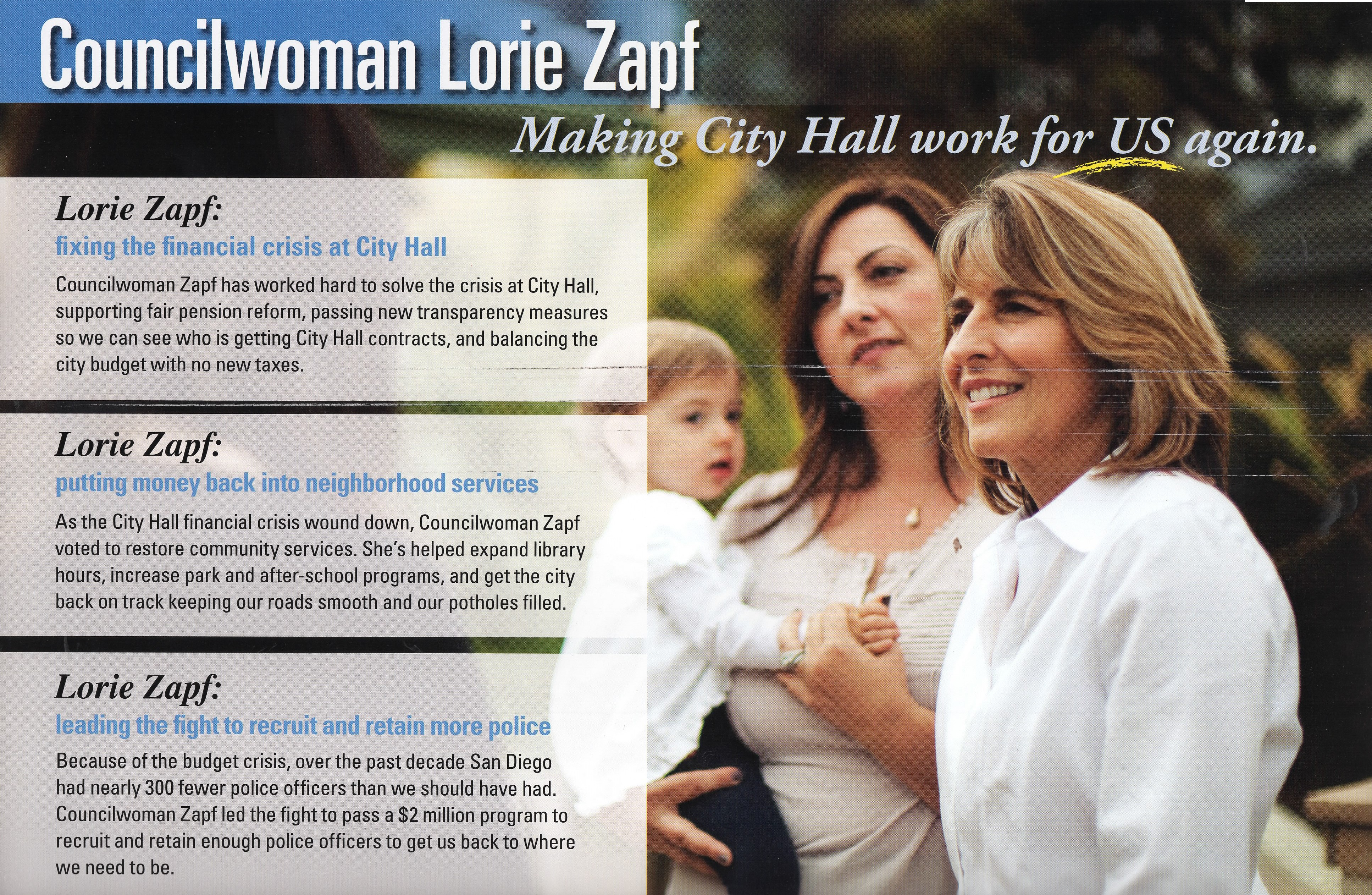 Lori Zapf – Chamber of Commerce Mail Piece 3 | Political