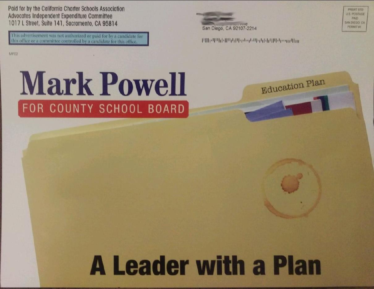 Mark Powell Manila Folder