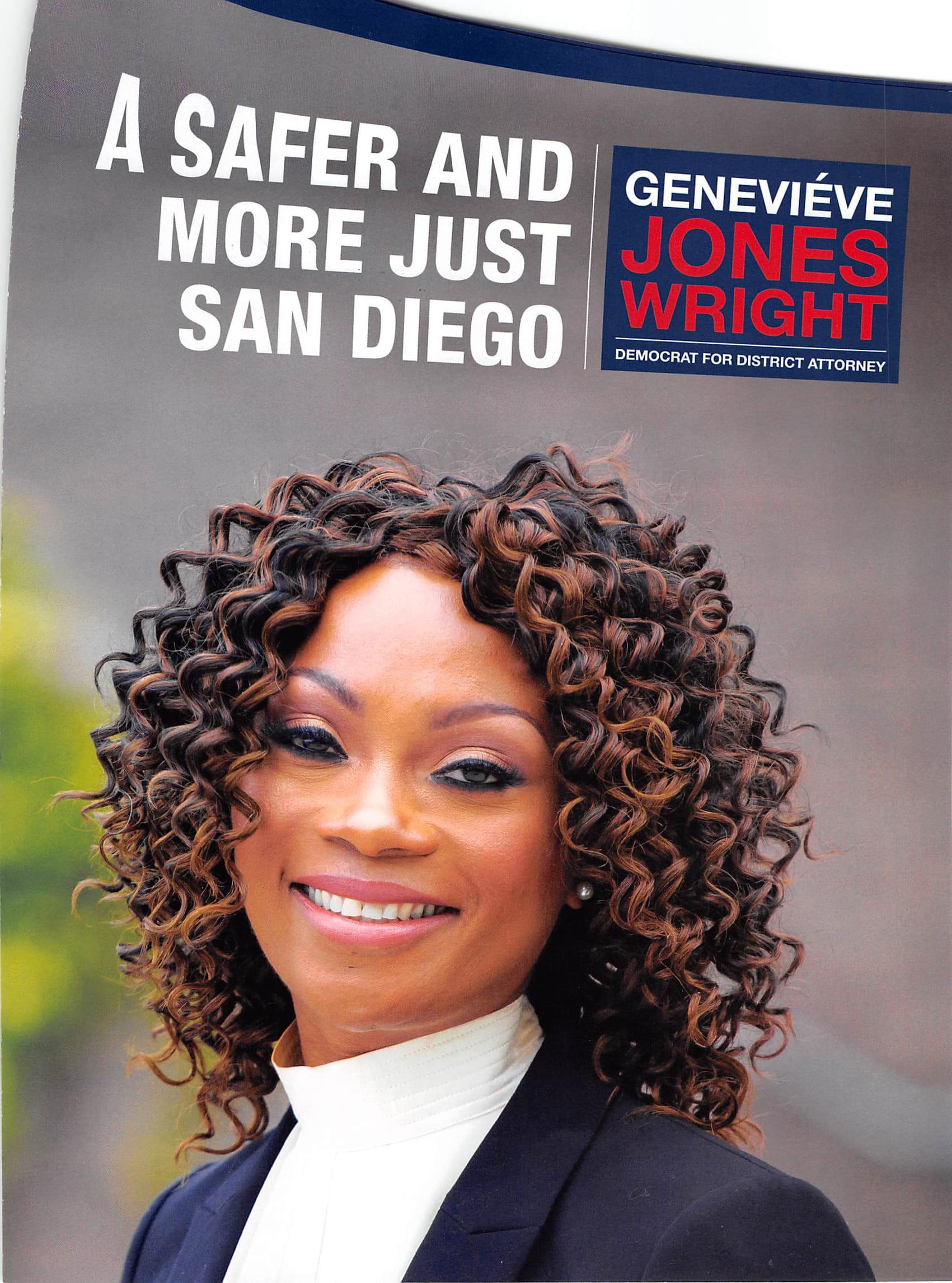 Genevieve Jones Wright for District Attorney