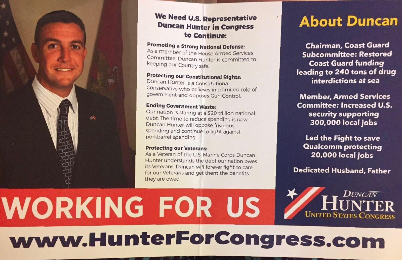 Re-Elect Duncan Hunter