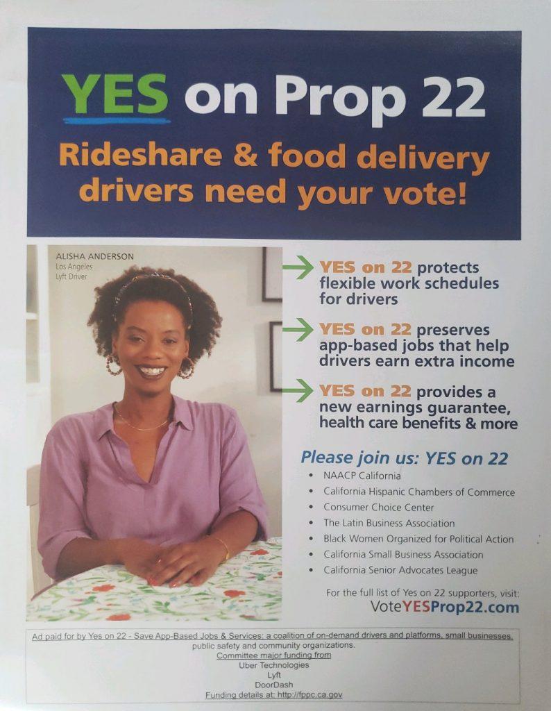 Prop 22 - Front
